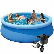 Above Ground Swimming Pools For Adults - 10ft X 30in Outdoor Pool Below Up...