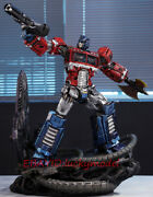 Transformers G1 Cybertron Optimus Prime 1.2m Led Statue Figures In Stock New