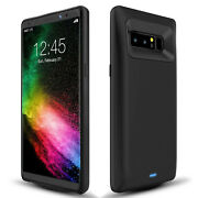 For Samsung Galaxy Note 8 - 5500mah Backup Power Battery Case Charger Back Cover