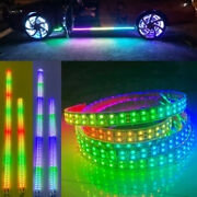 Sando Tech 2x 6.5ft + 2x 4ft Led Lights Strips Double Chasing Car Underbody Glow
