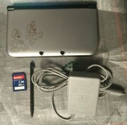 Nintendo 3ds Xl Year Of Luigi Edition Hacked With 32gb Sd Card And Charger