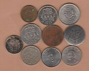 Ten Macau And China Coins In Fine Or Better Condition