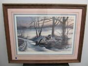 Terry Redlin Signed And Numbered Prints Rusty Refuge Lll 1983