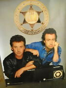 The Law Kenney Jones And Paul Rodgers Large Rare 1991 Record Company Promo Poster