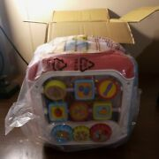 Vtech Sort And Discovery Activity Cube Pink. New Open Box