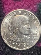 Susan B Anthony Dollar 1979 Coin P Mint. Good Condition