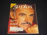 1988 August 50 Plus Magazine - Sean Connery - Front Cover - L 2900