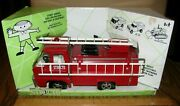 Ertl Structo Adult Collectible Steel Fire Truck Engine Department Toy 11004 Nib