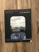 American History Volume 1 To 1865 Connecting With The Past By Alan Brinkley