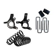 Freedom Off-road Fo-g601-rwd50-kit Front And Rear Lift Kit For 99-06 Sierra 1500