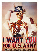 I Want You For The Us Army Anti War Print