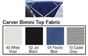 4 Bow Bimini Top Fabric W/boot For 54 High Frame Sunbrella Acrylic-8and039 X 54 X