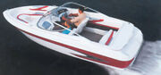 V-hull I/o Runabout Boat Cover Windshield And Hand/bow Rails-24and0396 X 102 Beam