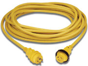 30 Amp Powercord Plus Cordset With Led Power Indicator-30a 125v Power Cord 25and039l