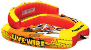 Airhead Live Wire Dual Point Towable-live Wire 2 Tube 2-rider 73 X 67