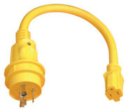 Powercord Plus Pigtail Adapter-15a Female/30a Male Pigtail Adapter
