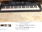 Electronic Piano Keyboard 54 Key With Teaching Function