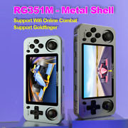 Anbernic Rg351m Rg351p Retro Video Game Console Aluminum Alloy Shell 2500 Game P