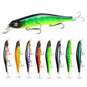 Artificial Fishing Lure Abs Floating Bass Wobbler Swim Bait Tackle Driving Depth