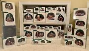 Dept. 56 Dickens Village Lot Of 38 Including 16 Buildings. Nib.