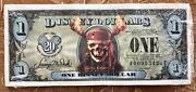2007 Disney Dollar Pirates Of The Caribbean Sealed Pack Of 25 Inc Very Rare