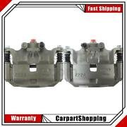 2 Centric Parts Disc Brake Caliper Front Left Front Right For Nissan March Versa