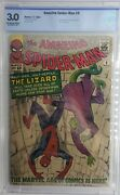 Amazing Spider-man 6 Cbcs 3.0 Graded First Appearance 1st App Lizard Not Cgc