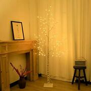 Lighted Birch Tree 6ft 96 Led Lighted Twigs Tree For 6 Feet Warm Light