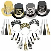 Opulent Affair New Yearand039s Party Kit For 200 Guests Includes Noisemakers