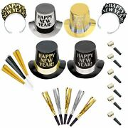 Opulent Affair New Year's Party Kit For 600 Guests, Includes Top Hats And Tiaras