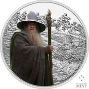 2021 Niue Lord Of The Rings Gandalf The Gray 1 Oz Silver Proof Coin - 3000 Made