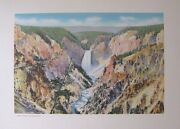 F Jay Haynes Photo Art Print Grand Canyon From Artist Point 1930and039s Free Ship
