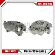 2 Centric Parts Disc Brake Caliper Front Left Front Right For Mazda 2003-2010