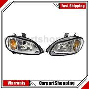 2 Dorman - Hd Solutions Headlight Assembly Left Right For Freightliner M2