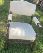 Vintage Mid Century Modern Arm Chair Furniture 50s 60s Retro Antique Wood Couch