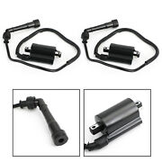 2x Ignition Coil And Spark Plug Fits Kawasaki En500c Vulcan 500 Ltd 1996-2009 Bike