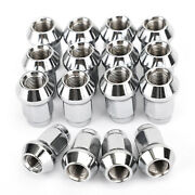 16pcs 3/8-24 Tapered Lug Nuts For Polaris Rzr 570 800 900 Xp 4 1000 Eps Ace