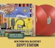 Paul Mccartney Egypt Station Barnes And Noble Lp On Red Vinyl - Sealed Condition