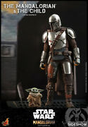 Hot Toys Star Wars The Mandalorian And The Child Action Figure 1/6 Scale Tms014
