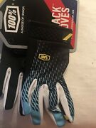 100 Adult Itrack Gloves - Size Large - Mx Atv Dirt Bike Mtb- Touch Screen