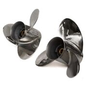 Yamaha Boat Propellers 6aw-45972-10   16 1/4 X 17p 6ax-45972-10 2 Pc