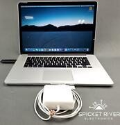 Apple Macbook Pro A1398 2015 Quad Core I7-4980hq 2.80ghz 1tb Ssd 16gb Ram - Read