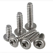 Self Tapping Screws With Pad Flat Tail M2/m2.2 /m2.6/m3 /m4 304 Stainless Steel
