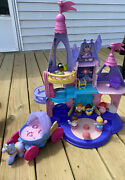 Fisher-price Little People Disney Princess Musical Dancing Castle.6 People +more