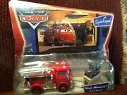 Disney Pixar Cars Red And Stanley Supercharged Movie Moments Diecast New L5268