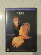 Fear Dvd Mark Wahlberg Reese Witherspoon Alyssa Milano Widescreen 1996