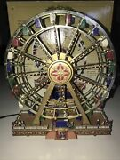 Mr. Christmas Gold Label Collection World's Fair Ferris Wheel- Works Perfect