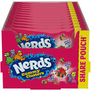 Nerds Gummy Clusters Candy 3 Oz Theater Box Lot Of 10 Boxes - 30 Oz Total