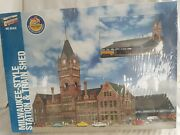 Walthers Ho 933-2943 Milwaukee Style Station And Train Shed New Cellophane Sealed
