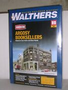 Walthers 3466 Argosy Booksellers Corner Building - Building Kit H.o. 1/87